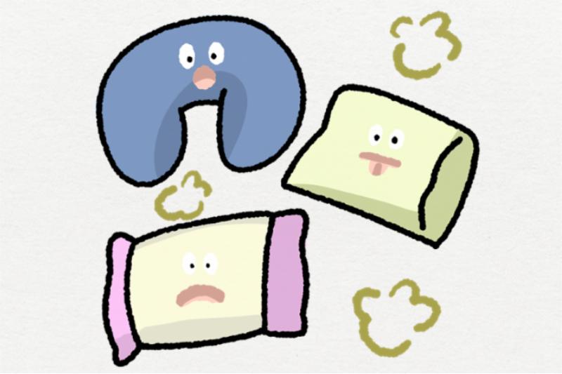 知ってた?枕カバーの臭い取りのコツと体臭の原因
